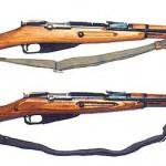 Mosin-Nagant Model 1944 carbine. A Red Army original.