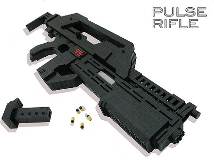 Laser Pulse Rifle This M41a1 Pulse Rifle is