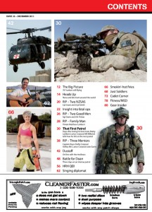 Table of Contents, December Issue 2011