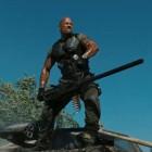"The Rock as ""Roadblock"" in the upcoming GI Joe sequel."
