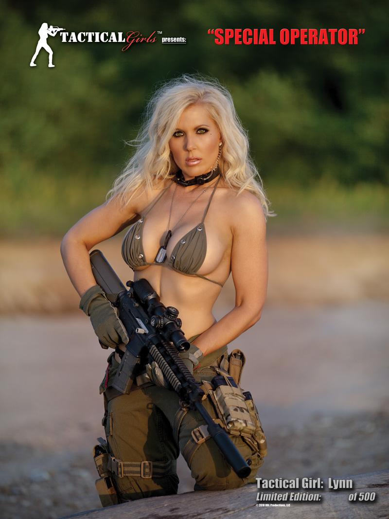 "Tac Girl Lynn Jordan's ""Special Operator"" Poster"