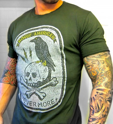 Rogue American Apparel Raven/Nevermore tee