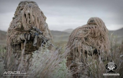 Tactical concealment: Sniper gear, ghillie suits, and concealment kit for snipers and designated marksment.