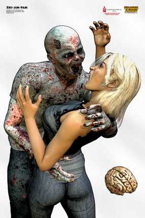 Zombie Targets are good for training for the zombie apocalypse and any TEOTWAWKI and SHTF type scenario.