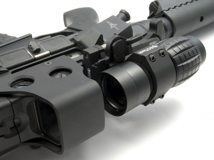 EOTech and magnifier
