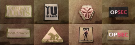 Ethos Tactical Patches