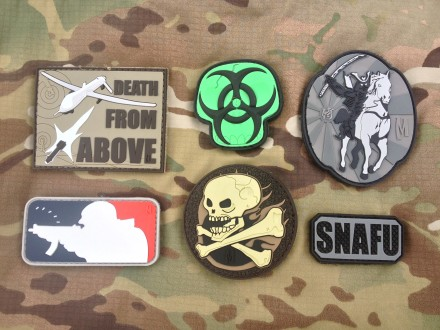 Maxpedition PVC Patches