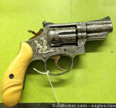 It was only fired once, because every other time it could only shoot blanks