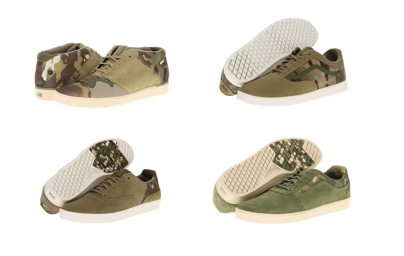 In Case You Missed Them MultiCam Vans Limited Sizes Available