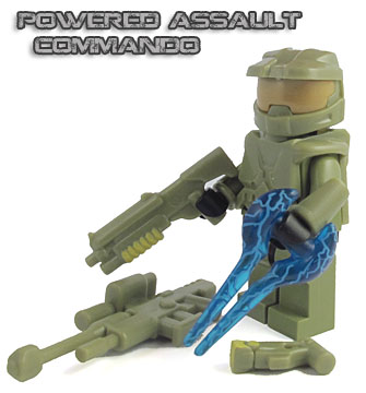 Powered Assault Commando - Olive Green (Loose)