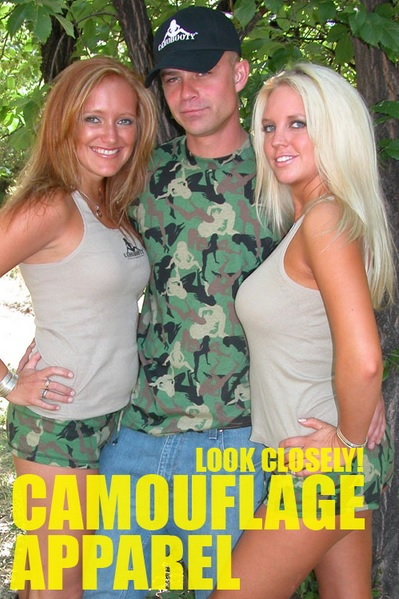 Camo Booty
