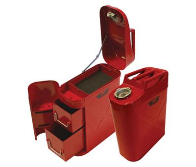 Jerry can tool box