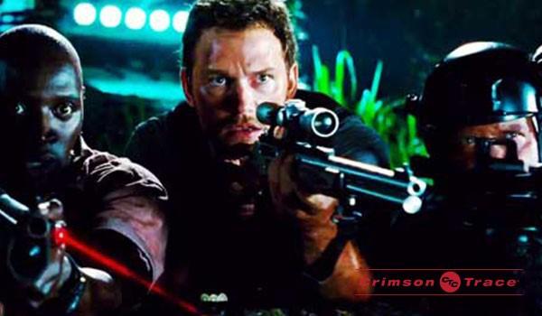 Jurassic World Crimson Trace Laser Tactical Fanboy