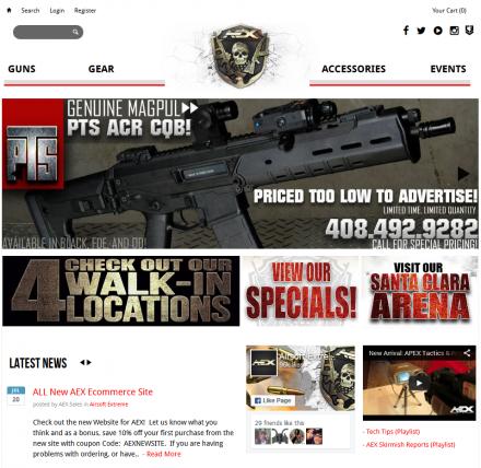 AEX New Site