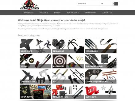 All Ninja Gear