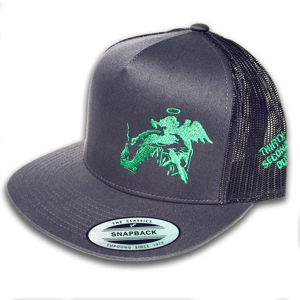 Like the band Slightly Stoopid? Like flat brim caps? Then this is the hat for you. Thirty Seconds Out made a few for the band, and are selling a rest to the