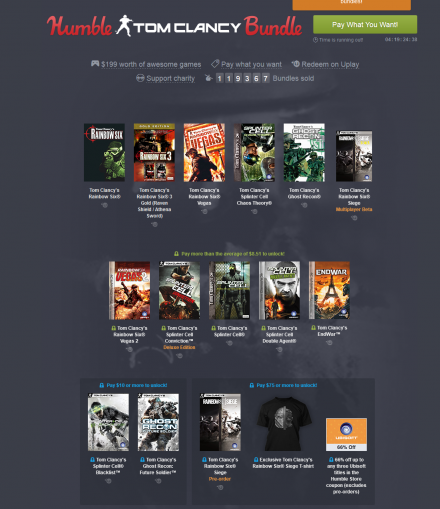 Tom Clancy Bundle
