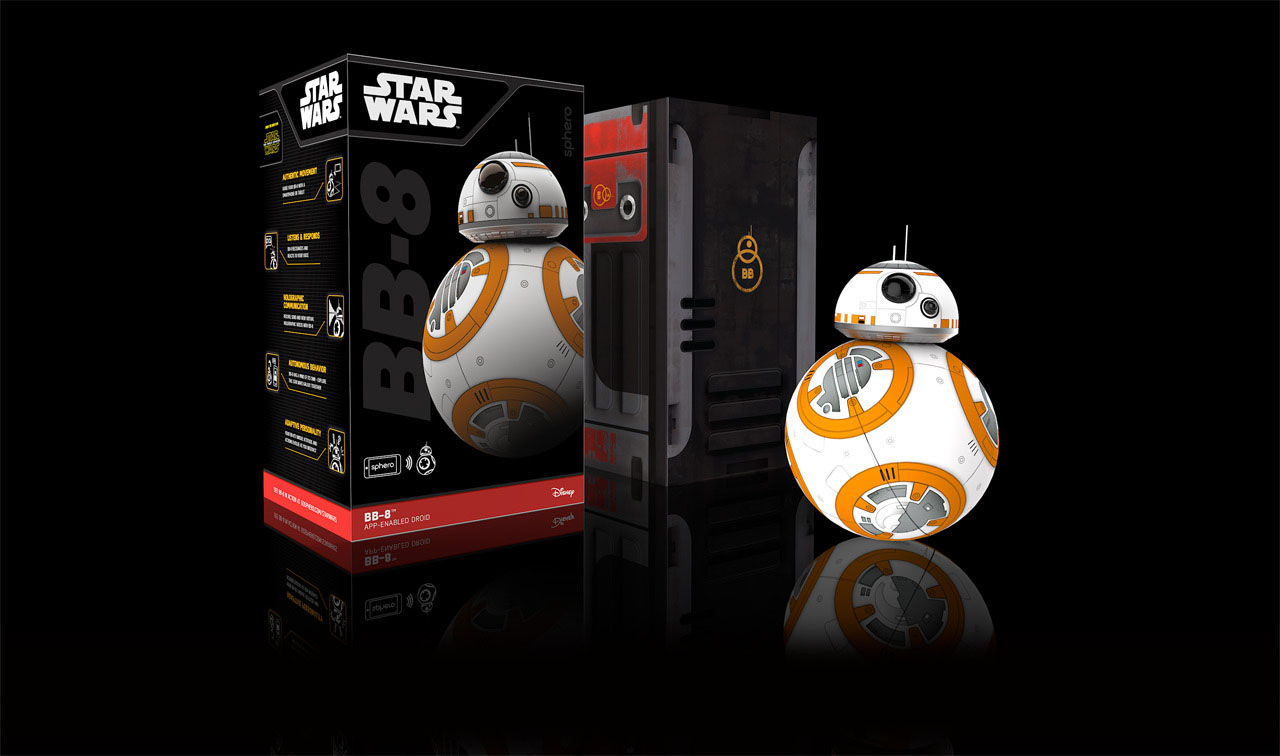 Star Wars Tactical Fanboy Bb8 Special Edition Bundle By Sphero App Enabled Droid Is An Robotic Ball That Can Be Controlled With Your Mobile Device Bb 8 The New R2 D2 Thanks To Power Of Marketing