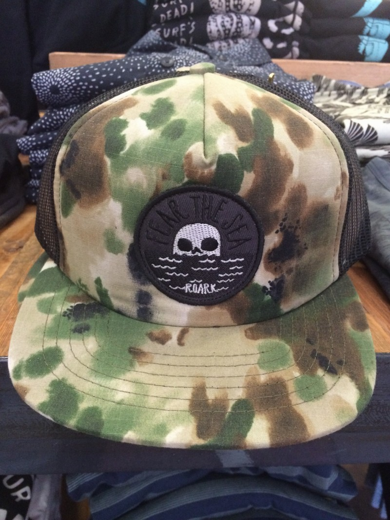 f84d82e112f A reader sent in a pic of a Roark Revival  Fear The Sea  mesh snapback hat  they found at Sun Diego Board Shop in Mission Beach