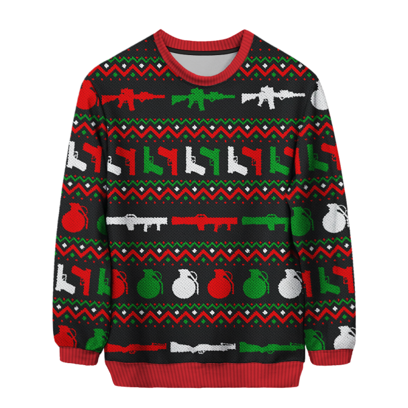 OAF Nation – Tools Of The Trade Christmas Sweater « Tactical Fanboy