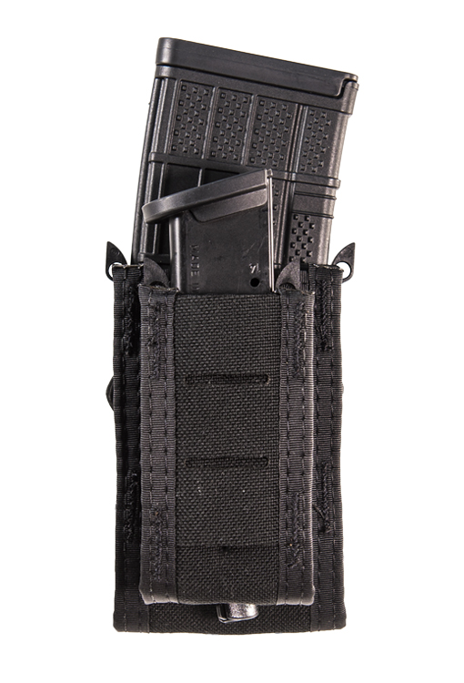 53946d1f593e Duty Double Decker® TACO®  The Double Decker® has one pistol-width pouch  and one rifle-width pouch stacked front to back. The pouches will hold most  rifle ...