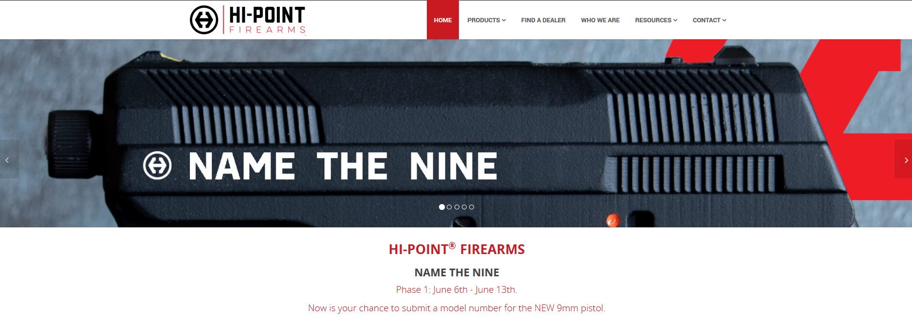 Hi-Point Firearms – 'Name The Nine' Contest « Tactical Fanboy
